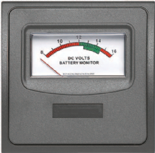 BEP 12V VOLT METER FOR CONTOUR 1000 SERIES INTERIOR SWITCH PANEL. Incl VAT